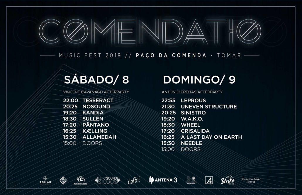 Comendatio Music Fest Schedule